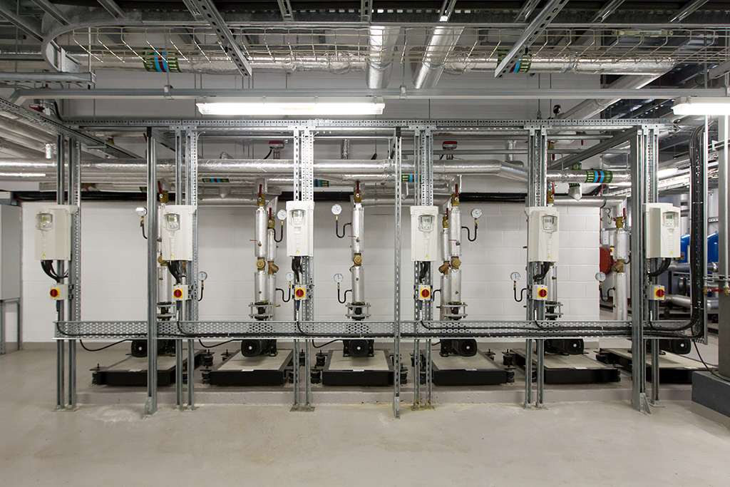 plant room electrics advance electrical contractors ltd